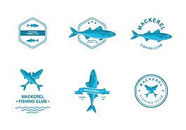 鯖魚標志圖標