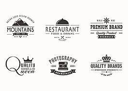 復古餐廳標志