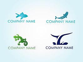 創意動物圖標企業標志