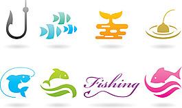 钓鱼标志Logo