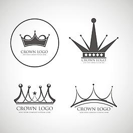 矢量皇冠企业标志