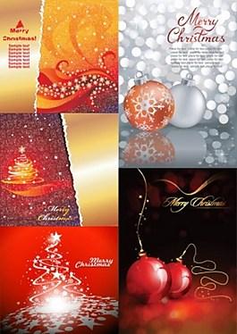 圣誕節漂亮裝飾背景圖
