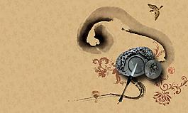 矢量水墨中国风设计