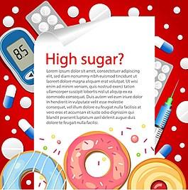 西式快餐食物海報背景素材