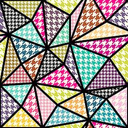 三角形無縫背景圖片