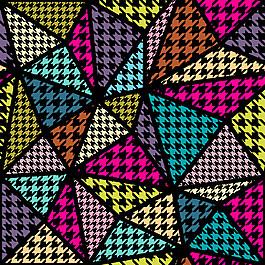三角形無縫拼接圖片