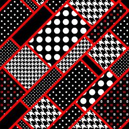 圓點織物背景圖片