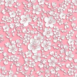 漂亮的粉色鮮花背景圖
