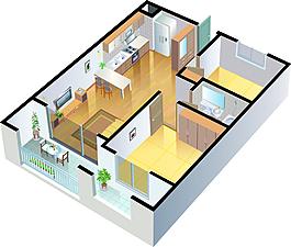 室內設計裝飾效果圖渲染