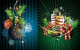 圣誕節裝飾背景圖