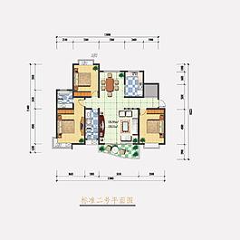家居家装平面户型图