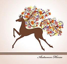 可愛漂亮鹿圖片