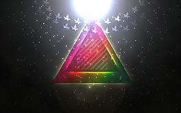 創意星光圖片