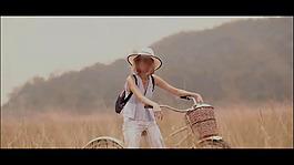 夏季田园人物视频素材