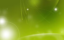 綠色漸變流線背景