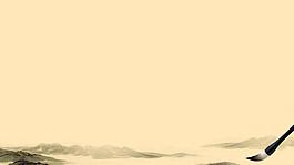 复古中国风水墨背景