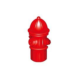 矢量紅色消防泵元素