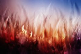 動感火紋背景圖片