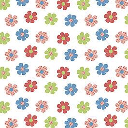 矢量小花朵底紋