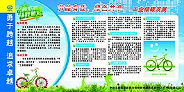 節能環保展板