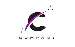 C字母標志設計圖片