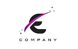 E字母標志設計圖片