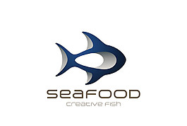 海鮮美食標志圖片