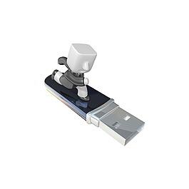 卡通3D小人USB數據元素