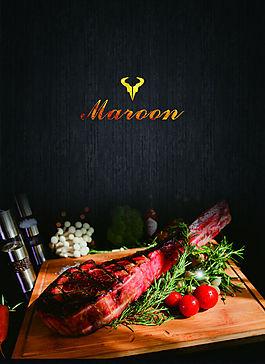 西餐廳菜單海報