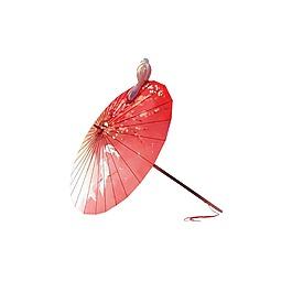 矢量紅色傘元素