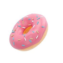粉色儿童游泳圈元素