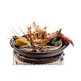 水煮火锅串串龙虾元素
