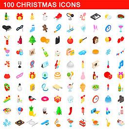 圣誕節圖標按鈕圖片