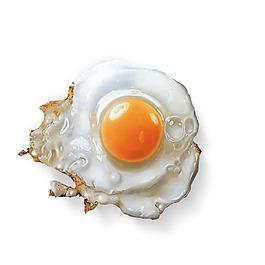 煎雞蛋元素