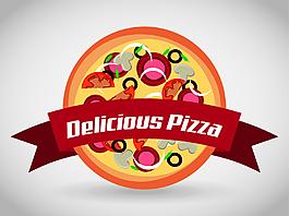 快餐披薩商標