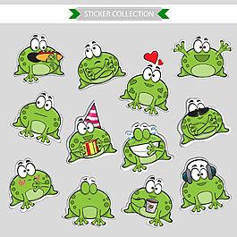可愛的綠豆蛙