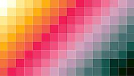 彩色漸變格子背景
