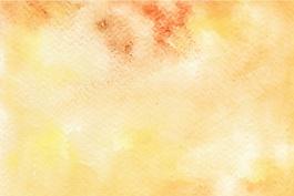 黃色的水彩背景
