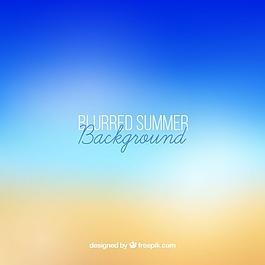背景散焦的夏天
