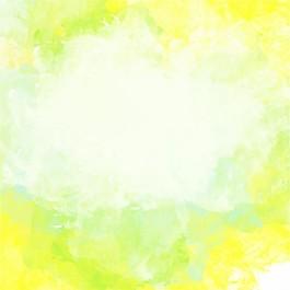 黃色藝術水彩背景