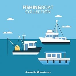 渔船在平面设计中的收集