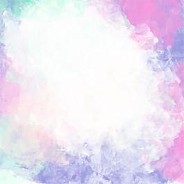 彩色抽象水彩背景