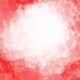 红色水彩背景