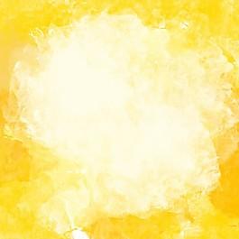 黄色的水彩背景