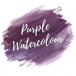 紫色的水彩背景