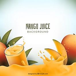 芒果汁的现实背景