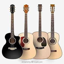 各種類型的吉他