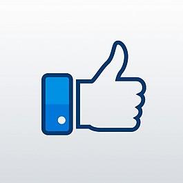臉譜網喜歡的圖標