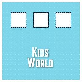 孩子的世界背景