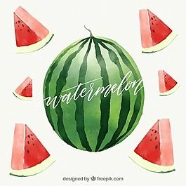 水果背景設計